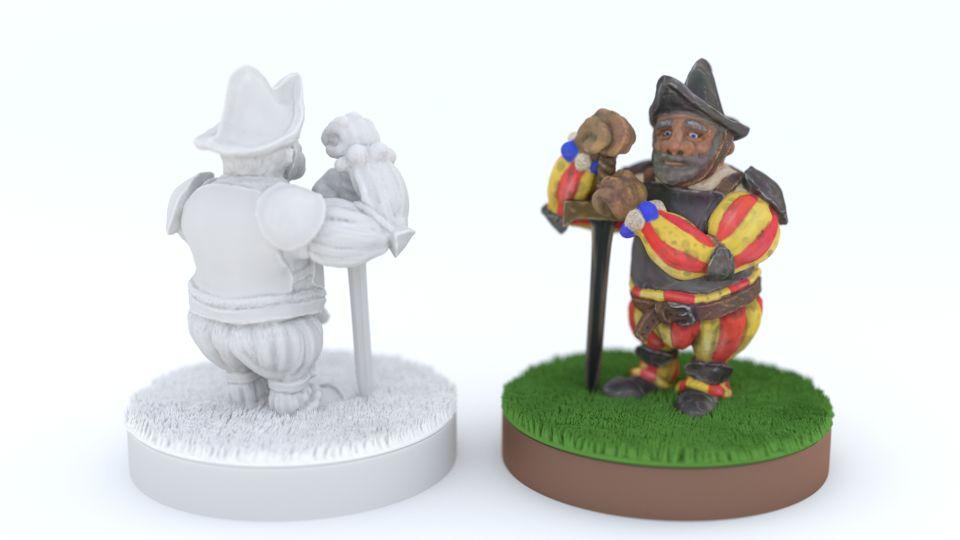 Miniature Soldier Renaissance